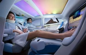 XchangE: een belachelijk futuristisch concept van een zichzelf besturende auto
