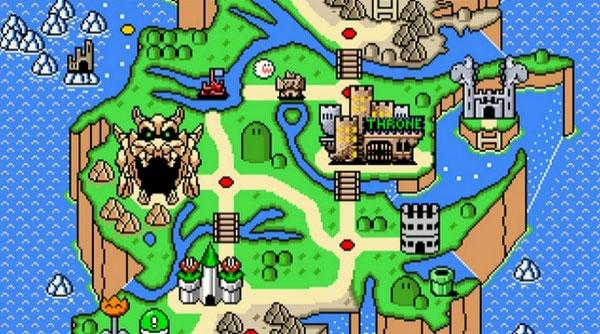 Game of Thrones en Super Mario