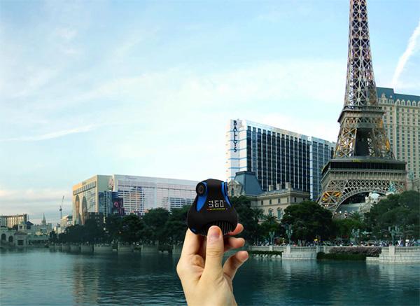 giroptic 360 camera De Giroptic 360 graden camera haalt tonnen op via Kickstarter