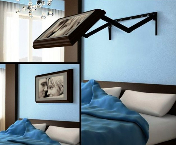 hidden vision televisie Briljante accessoire verstopt je televisie achter een schilderij