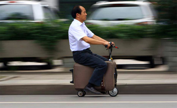 koffer voertuig De beste manier om jezelf van en naar het vliegveld te transporteren