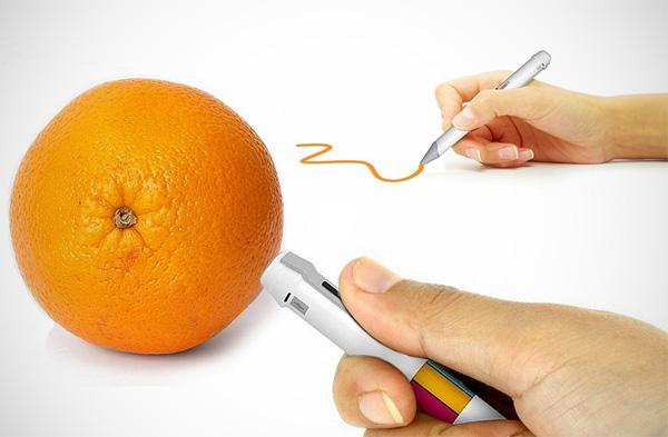 scribble pen kleuren Deze interessante pen kopieert de kleuren om je heen