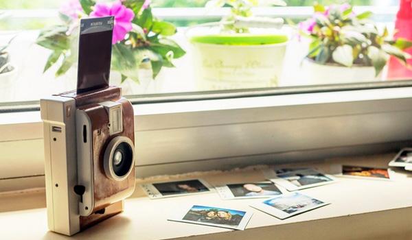 lomography polaroid camera LomoInstant: toffe camera voor creatievelingen