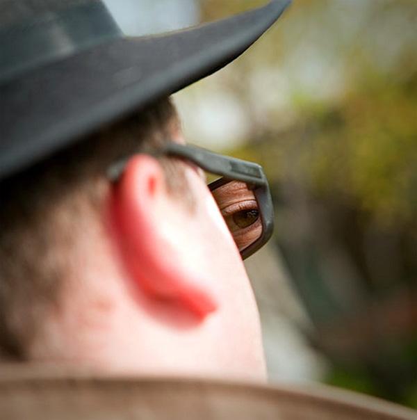 spy glasses spiegel Een zonnebril voor spionnen
