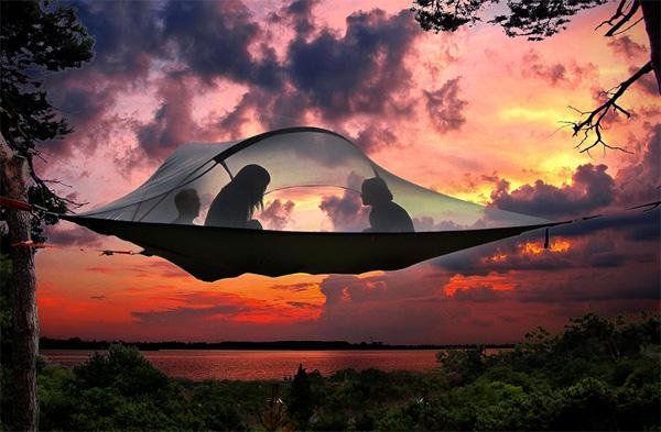stingray tent Tentsile Stingray: kamperen op zijn best