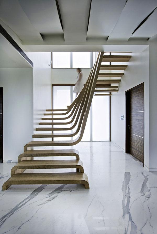 Wow een trap als kunstwerk - Huis met trap ...