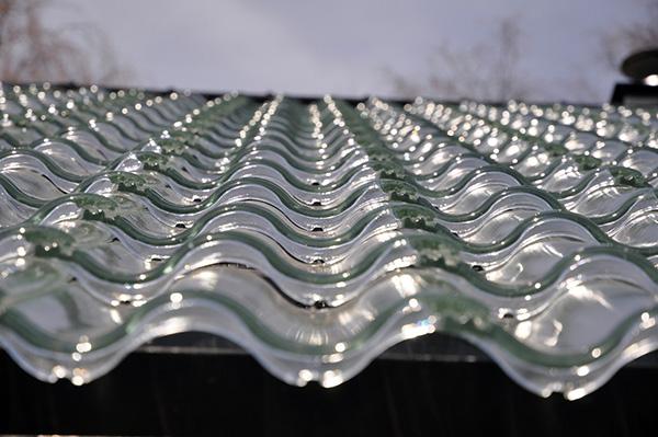 Doorzichtige dakpannen