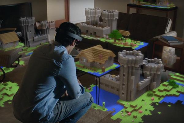 Woonkamer Haardset : Microsoft HoloLens: hologrammen in je woonkamer ...