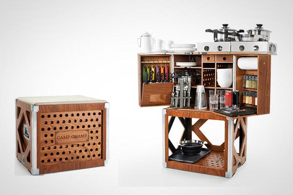 Design Keuken Gadgets : Camp Champ: de ultieme keuken voor op de ...