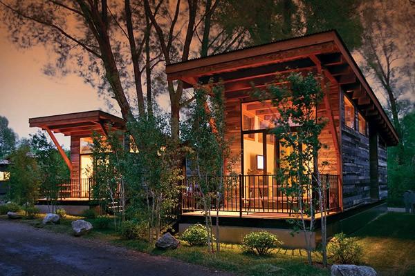 Wheelhaus: prachtige huisjes die je gemakkelijk kunt verplaatsen