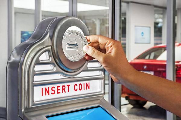 auto-verkoopautomaat