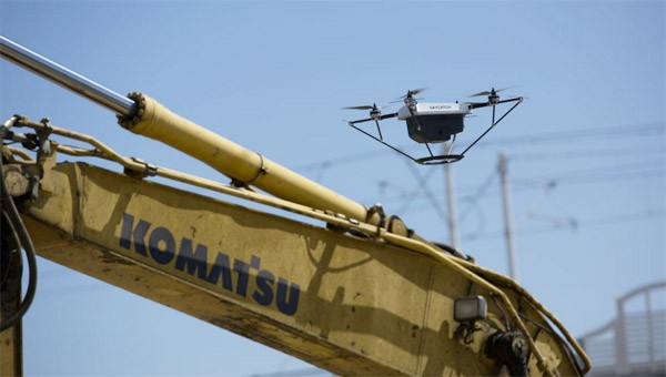 komatsu-drone-bulldozer