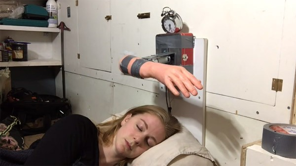 The Wake-up Machine: nooit meer te laat op je werk