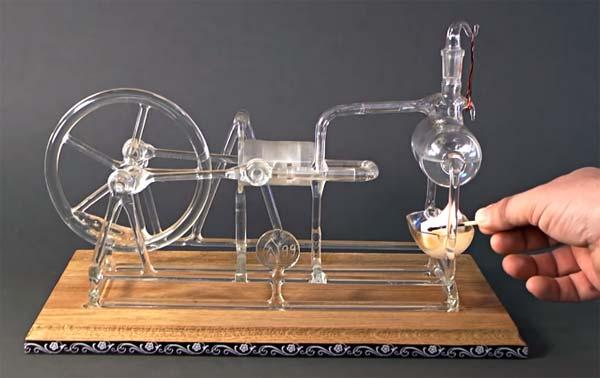 stoommachine-glas