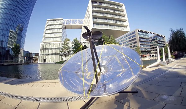 PhotonGrill: een draagbare BBQ die werkt op zonne-energie