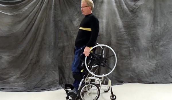 rolstoel-staan