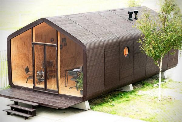 Wikkelhouse: een modulair, kartonnen huisje van Nederlandse bodem