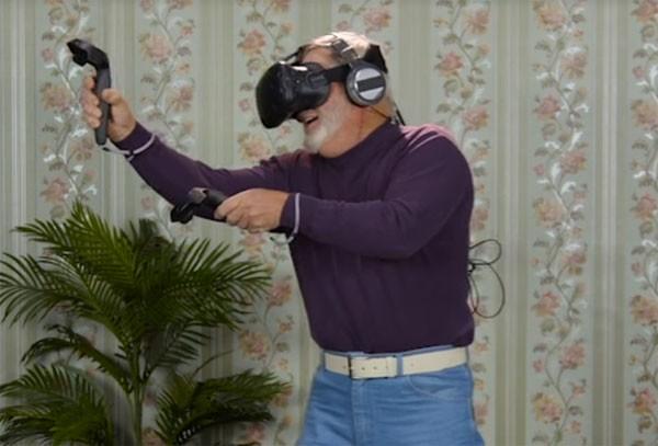 De reactie van ouderen op VR laat zien dat het potentie heeft