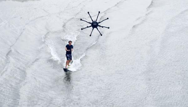 drone-surfen