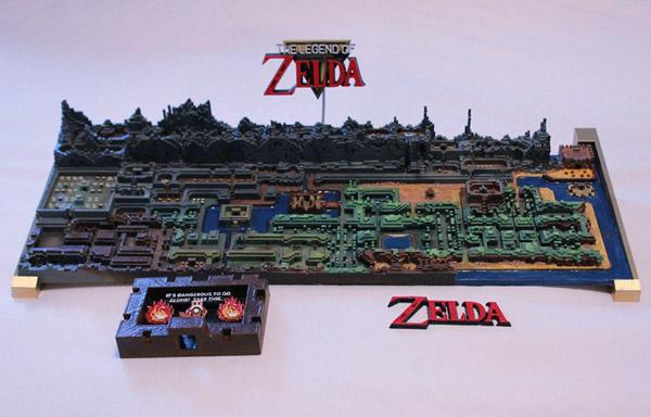 zelda-kaart-3d-printer