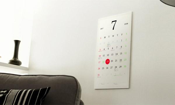 Magic Calendar: een verbonden kalender van e-papier