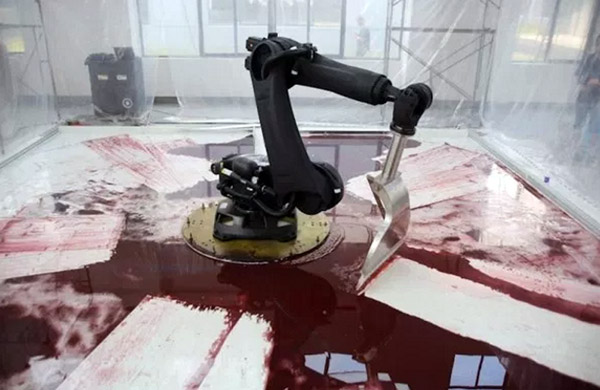 robotarm-bloed