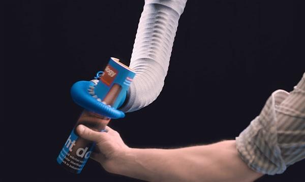 OctopusGripper: een robotarm geïnspireerd op de octopus