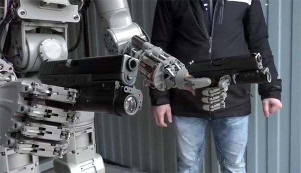 Russische robot schiet met dodelijke precisie