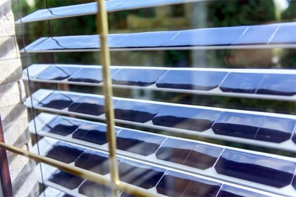 SolarGaps: luxaflex met ingebouwde zonnepanelen