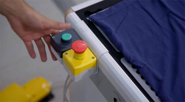 Speedy-T: een machine die je t-shirts opvouwt