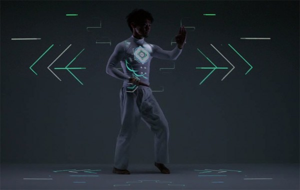 exisdance-projection-mapping