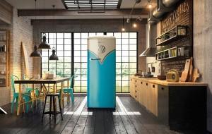 Deze koelkast heeft het uiterlijk van een retro VW-busje