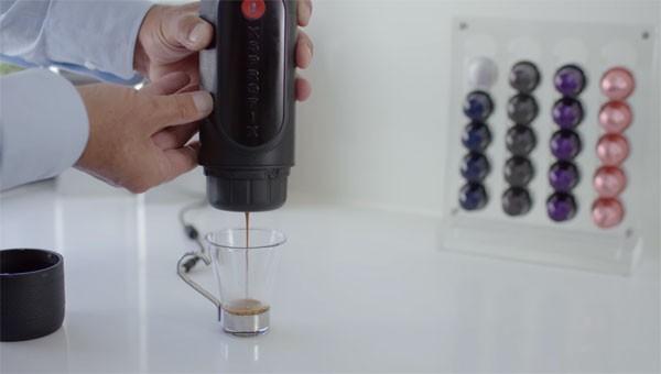 Xsprofix: een mobiel espressoapparaat