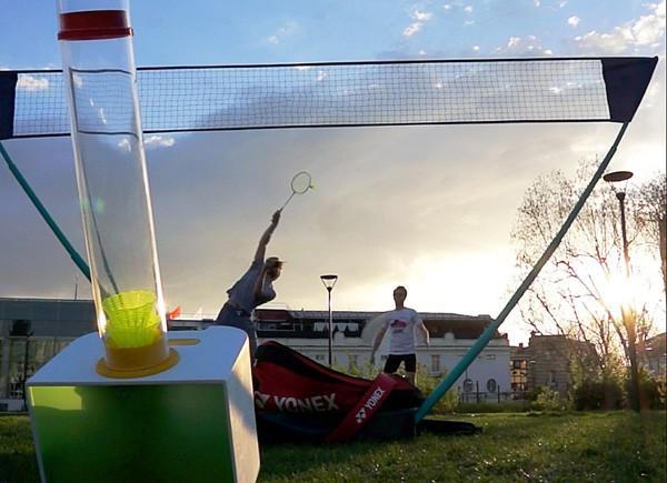 baddy-badminton-robot