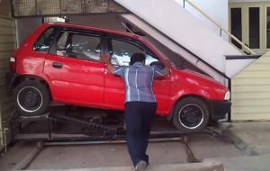 mini-parkeergarage