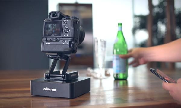 Op afstand bestuurbaar camerakarretje maakt geniale shots mogelijk