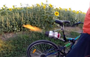 fiets-straalmotor