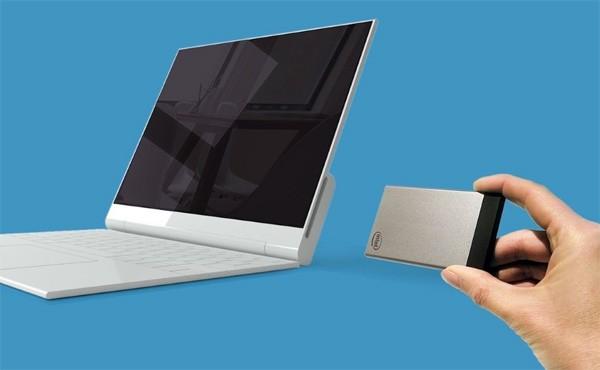 Intel Compute Card: een computer met het formaat van een pinpas
