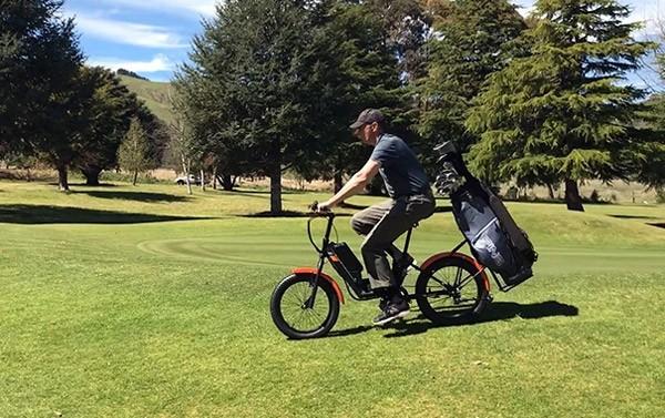 Gbike Golfer: een elektrische fiets voor op de golfbaan