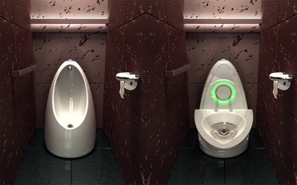 Slim: een wc en urinoir in één