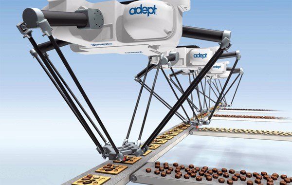 Adept Quattro: de snelste robot ter wereld