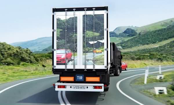 Transparentius-concept maakt rijden veiliger