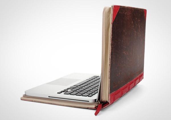 Een boek als laptophoes
