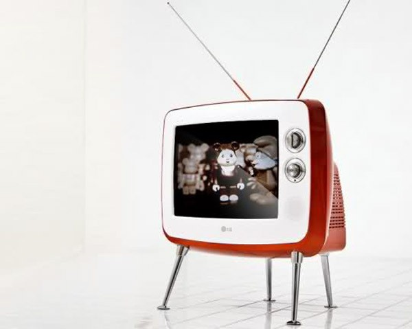 LG retro-televisie: nieuw in oud jasje