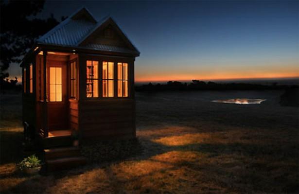 Mini-huisje heeft alles wat je van een huis kunt verwachten