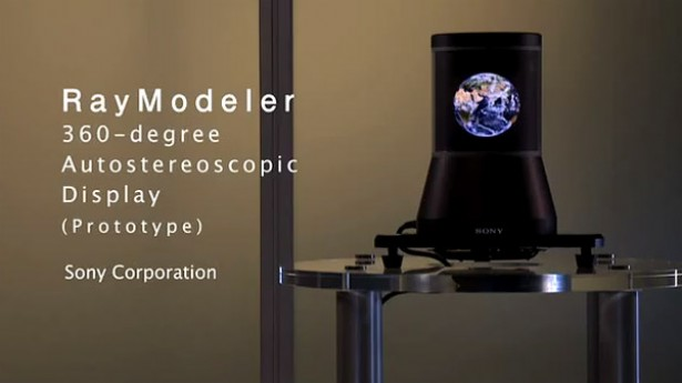 Sony RayModeler: autostereoscopisch 3D-display