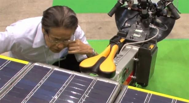 Solar Bike Fujin: motorfiets op zonne-energie
