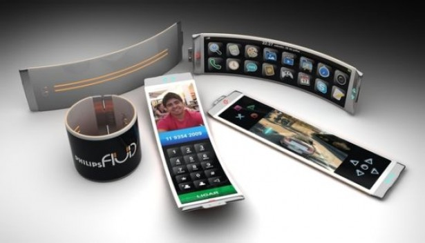 Philips Fluid smartphone-concept