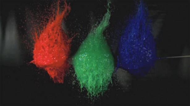Zes minuten lang prachtige slow-motion beelden
