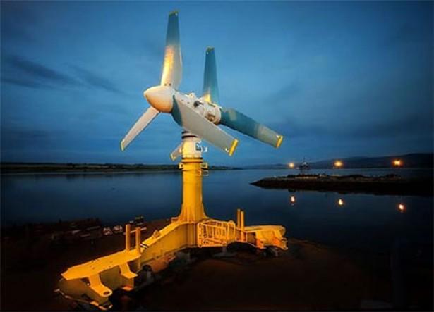 's Werelds grootste turbine op waterkracht